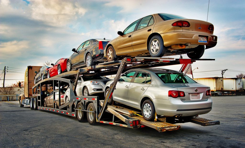 shipping of the car